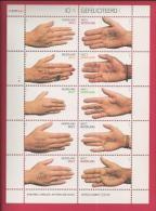 NEDERLAND, 2000, Mint Never Hinged, Stamp(s)sheet, Congratulations, NVPH Nr. 1878-1887, F2489 - Blocks & Sheetlets