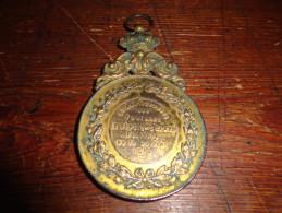 14N/1 - Médaille Face Albert 1er Revers Xème Anniversaire Des Fanfares Le Réveil Sclayn 19010 - Unclassified