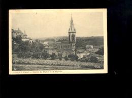 JARNIOUX Rhône 69 : Quartier De L'église Et Le Vignoble Vignes Beaujolais  (rare Cp ) - France
