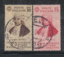 3RG834 - REGNO 1934 , Serie  N. 364/365 . Galvani - 1900-44 Vittorio Emanuele III