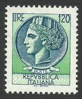 Italy, 120 L. 1977, Sc # 1288, MH - 6. 1946-.. Repubblica