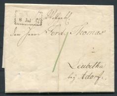 1802 Germany Vorphila - Saxony Leubetha Bei Adorf Im Voigtlande - Germany
