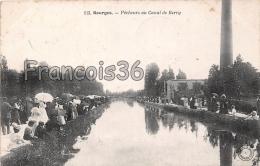 18 - Bourges - Pêcheurs Au Canal De Berry - écrite - Animée - Bourges