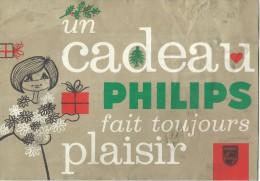 Prospectus Catalogue/ Un Cadeau PHILIPS Fait Toujours Plaisir/ Electro-ménager/1963     CAT66 - Catalogi