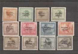 Ruanda-Urundi ( 50/61 X -MH)