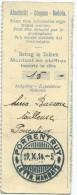 Coupon Talon D'une  Lettre - Mandat/ Porrentruy/Commune SUISSE/ Canton Du Jura/ 1914      TIMB53 - Non Classés