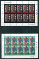 """ALBANIEN Mi.Nr. 2928-2929 EUROPA CEPT """"Plakatkunst"""" 2003- Kleinbogen -MNH - Europa-CEPT"""