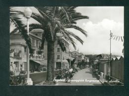 Italie - Cogoleto - Passeggiata Lungomare - Via Aurelia ( Animée Ed. Vallarino ) - Genova (Genoa)