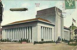 Exposition Universelle Et Internationale Du Gand 1913  La Section Allemande  Zeppelin  Dirigibile - Dirigibili