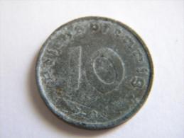 ALLEMAGNE - 10 REICHSPFENNIG 1944 B.