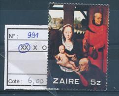 CONGO  KINSHASA ZAIRE 1979  COB 991 MNH - Zaïre