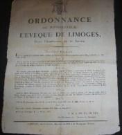 ordonnace de msg l��v�que de limoges 1816 ft 360x460 mm