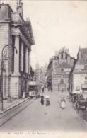 CPA 21 @ DIJON @ La Rue Rameau - Tramway - Horloger Bijoutier Bossu Cathelinet - Dijon