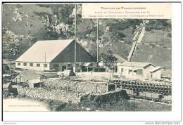 09 HOSPITALET TRAVEAUX DU TRANSPYRENEEN USINE POUR LA FORCE MOTRICE ELECTRIQUE CPA BON ETAT - Unclassified