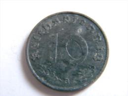ALLEMAGNE - 10 REICHSPFENNIG 1941.B.