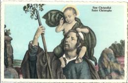 Roosbeek Boutersem Tentoonstelling Zandtapijten Wwe Van Schuerbeek Sint Christoffel Saint Christophe - Boutersem
