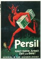 Repro Kaart Persil - Publicité
