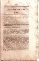 BULLETIN DES LOIS - N° 127 - 27 DECEMBRE 1853 - NAPOLEON III - NAVIGATION ET COMMERCE ENTRE LA FRANCE ET LE PORTUGAL - Décrets & Lois