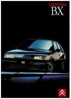 CITROEN BX CATALOGUE 9 PAGES 1989  Format A4 FRANCE - Publicidad