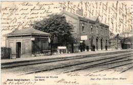 BRABANT   1 CP Mont St Guibert   La Gare  1905 - Mont-Saint-Guibert