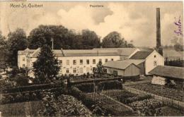 BRABANT   2 CP Mont St Guibert   Papeterie 1905  Eglise 1904 Nels 79 N°22 - Mont-Saint-Guibert