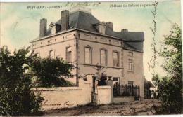 BRABANT   2 CP Mont St Guibert   Papeterie 1906  Château Du Colonel Englebert  1906 - Mont-Saint-Guibert