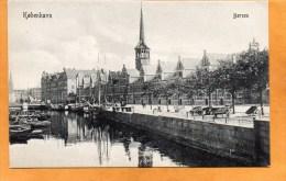 Copenhagen Borsen 1905 Denmark Postcard - Dänemark