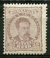 Portugal #57 D.Luis 25r Mint - L3372 - 1862-1884 : D.Luiz I