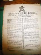 Viticulture, ordonnance de Police