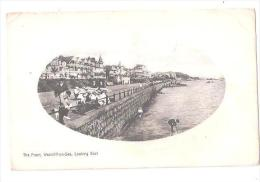 THE FRONT  WESTCLIFF ON SEA LOOKIG EAST ESSEX USED 1913 AHJ SERIES - Southend, Westcliff & Leigh