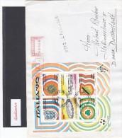 Italia Rep. 1990 - Lettera Racc. X Germania Del 11/7/90 Affrancata Con BF/9(Sassone) - 1981-90: Marcofilia