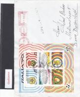 Italia Rep. 1990 - Lettera Racc. X Germania Del 11/7/90 Affrancata Con BF/5(Sassone) - 1981-90: Marcofilia