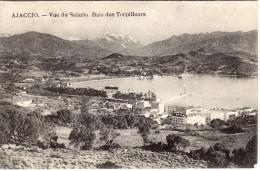 CORSE  -  AJACCIO  - LA BAIE DES TORPILEURS VUE DU SALARIO - Cardinali 1908 - Ajaccio