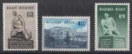 Belgique - YT N° 860 à 862 - Neufs ** - MNH  - Cote: 65,00 € - Nuovi