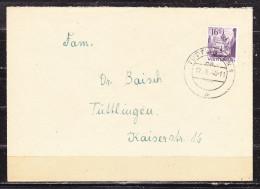Brief, EF Kloster Bebenhausen, Tuttlingen 1948 (59893) - French Zone