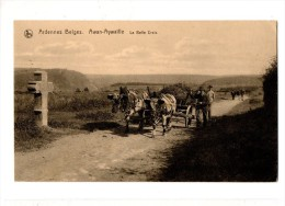6677 AWAN-AWAILLE Cachet De La Direction Du Train - Awans