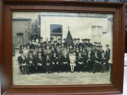 Souvenir Du 75 Eme Anniversaire De L'harmonie Royale De Saint Servais Namur 7 Septembre 1947 37cmX26cm - Photographs