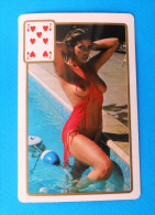 EROTIC ( Small Calendar ) Erotique Erotica Erotik Erotiek Sexy Sex Nude érotisme Petit Calendrier Hands Up - Calendars