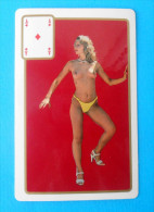 EROTIC ( Small Calendar ) Erotique Erotica Erotik Erotiek Sexy Sex Nude érotisme Petit Calendrier Calendario Kalender - Calendars