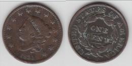 **** USA - ETATS-UNIS - 1 CENT 1831 - ONE CENT 1831 CORONET **** EN ACHAT IMMEDIAT !!! - 1816-1839: Coronet Head (Testa Coronata