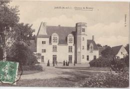CPA Animée - Jarzé (49) - Château Du Brossay - 1909 - Other Municipalities