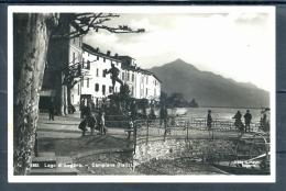 11359 ITALIA Lago Di Lugano - Campione D´Italia - Scena Animata - TI Tessin