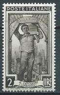 1955-57 ITALIA LAVORO STELLE 2 LIRE MNH ** - JU052-9 - 1946-60: Mint/hinged