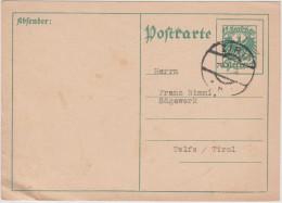 AUSTRIA - ÖSTERREICH - 1934 - Postkarte - Postal Card  - Entier Postal - Viaggiata Da Zirl Per Telfs - Interi Postali
