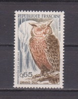 FRANCE / 1971 / Y&T N° 1694 ** : Grand-duc - Gomme D´origine Intacte - Nuovi