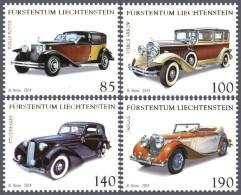 lie2141330 Liechtenstein 2014 Saloons Car 4v Michel Nr.1727-30