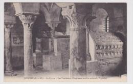 JOUARRE - LA CRYPTE - LES TOMBEAUX - CHAPITEAUX DE MARBRE ORIENTAL - Frankrijk