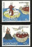 1994 - Faroer 254/55 Europa - Faroe Islands