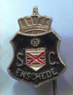 FOOTBALL / SOCCER / FUTBOL / CALCIO - SC Enschede, Twente, Netherlands, Vintage Pin, Badge - Fussball