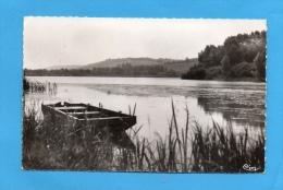 BOUVANCOURT SUR BRESLE (80) CPSM UN ETANG VUE D'ENSEMBLE 1958 PHOTOS R/V - Autres Communes